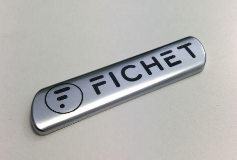 Verchromtes Emblem FICHET GROUP