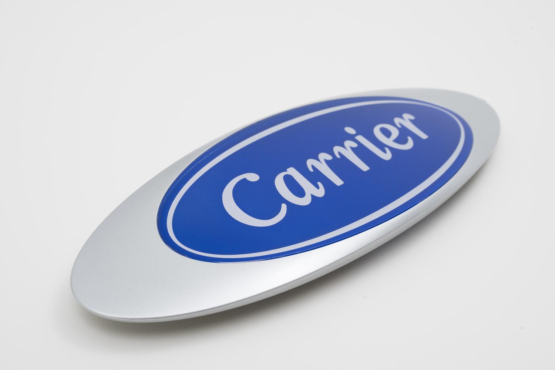 CARRIER screen printing logo
