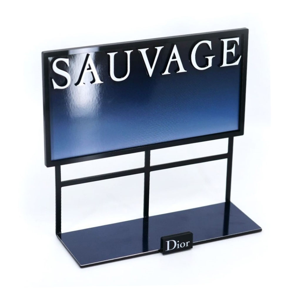Logo and emblems on displays - 3D logos for POS displays and boxes