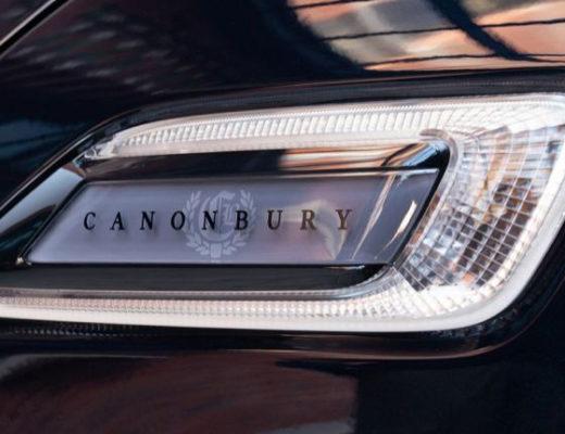 Screen printing emblem MINI CANONBURY