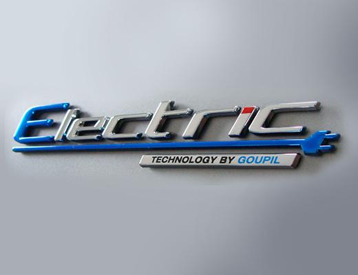 Sticker ELECTRIC