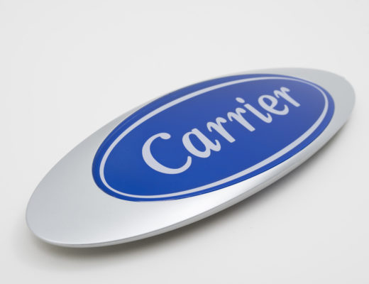 Logo sérigraphie CARRIER