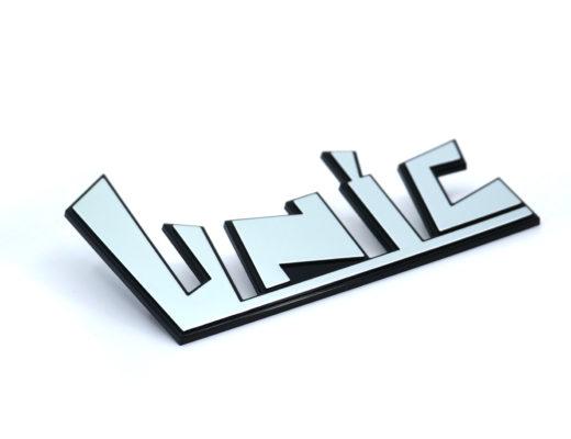 Logo 3d pour l'industrie UNIC