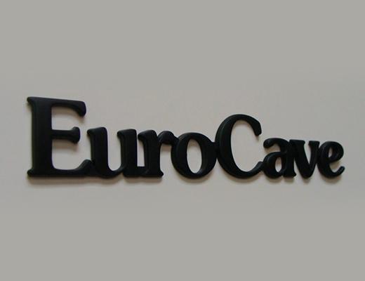 Logo par injection plastique Eurocave